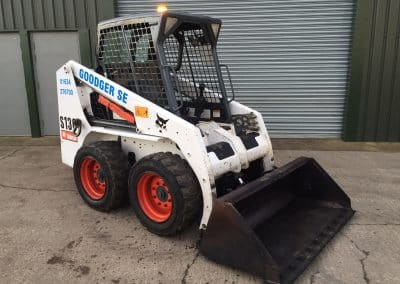 Skid Steer angled view