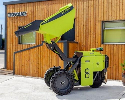 JCB 19C-1E Zero emissions electric digger / excavator