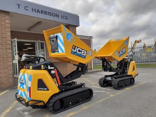 JCB Electric Dumpster from GoodgerSE Ltd